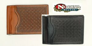 Front-Pocket-SLIM-WALLET-Basket-Tool-Leather-Clip-Silver-Leather-N54127-18