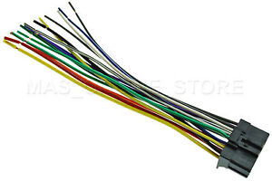 wire harness for pioneer avh 100dvd avh100dvd avh 200bt avh200bt rh ebay com