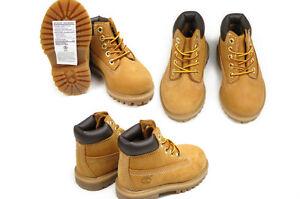 Timberland-TODDLERS-Toddler-6-Inch-Waterproof-Premium-Boot-12809M-Wheat-Nubuc