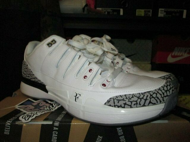 4f8e42e0 Nike Zoom Vapor Aj3 White/red/grey 709998-160 US Men Sz 12 for sale online  | eBay