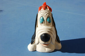 Droopy Figurine En Platre 23,5 Cm