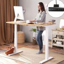 Dual Motors Electric Standing Desk Frame Height Adjustable 3 Stage Workstations