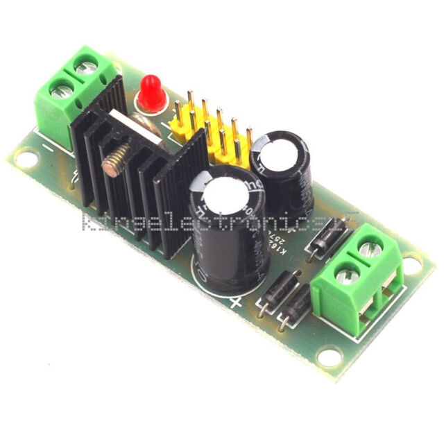 L7805 LM7805 Step Down Converter 7.5V-35V to 5V Regulator Power Supply Module