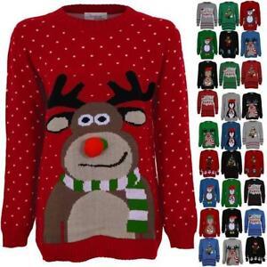femmes tricot rennes no l neige santa olaf favori femmes t shirt tricot ebay. Black Bedroom Furniture Sets. Home Design Ideas