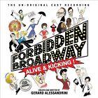 Alive and Kicking by Forbidden Broadway (CD, Nov-2012, DRG (USA))