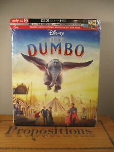 NEW-Target-Exclusive-Disney-Dumbo-Live-Action-4k-UltraHD-Blu-Ray-Digital-Co