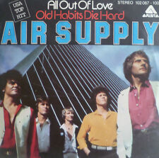 """7"""" 1980 US KULT IN VG+ ! AIR SUPPLY : All Out Of Love"""