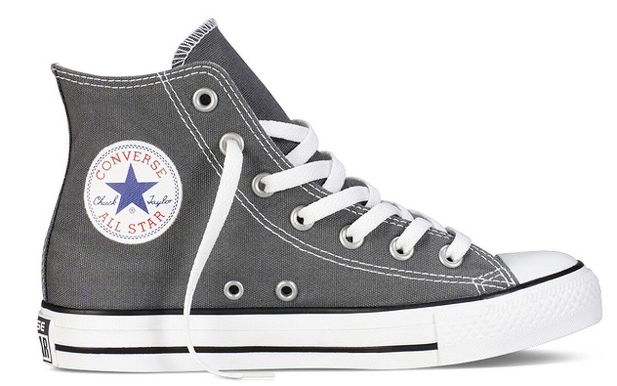 Converse All Star Hi Canvas Damenschuhe Charcoal Canvas Hi Trainer e641ba