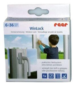 dass sich das Kind /öffnet um zu verhindern 3M selbstklebende T/ürhebelverriegelung Sicherheit ABS-Verriegelung T/ürgriff Babyschloss T/ür 4 St/ück 12x7cm MHwan Kindersicherung Fenster