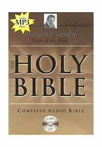 Details about KJV Comp Scourby MP3 2 CDs Alexander Scourby-King james  Version    Free Shipping
