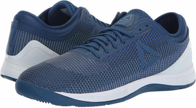 Reebok Men's Crossfit Nano 8.0 Flexweave Sneaker, Blue, Size 7.5 ItRu