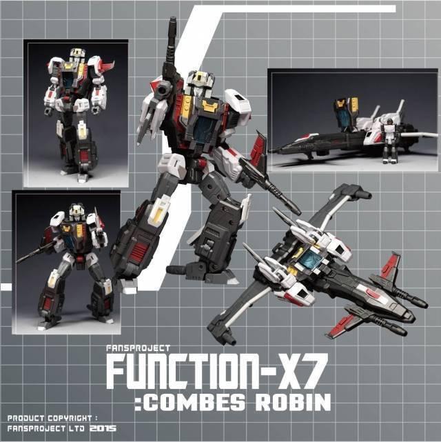 Juguetes héroe  Menta en caja sellada Transformers Fansproject director función X7 versión límite