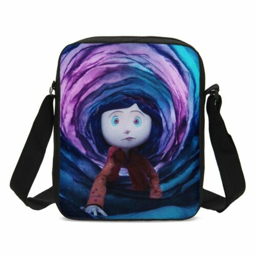 Coraline School Large Backpack Insulated Lunch Bags Pencil Case Girls Women LOT