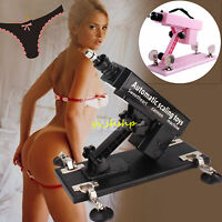 Sex Play Toy Machine Gun Black Pink Mastu Female Auto Scaling Toys Console Self