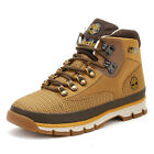 Timberland Mens Euro Hiker Boots, Wheat Jacquard, Casual Ankle Shoes