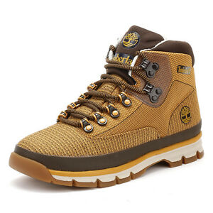 Timberland Men's Euro Hiker Jacquard Boots Men's Shoes wRUFs
