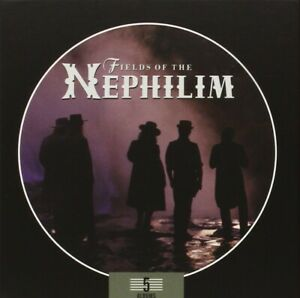 FIELDS-OF-THE-NEPHILIM-5-ALBUMS-BOX-SET-5-CD-NEU