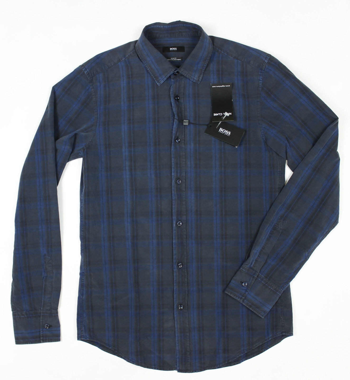 Hugo Boss - Ronny Slim Fit Shirt - Size S NEW WITH TAGS RRP