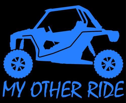 My Other Ride Polaris RZR 1000 XP ATV UTV Vinyl Window Decal