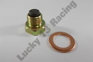 JMP-magnetic-oil-sump-drain-plug-amp-washer-M14-x-1-25mm-bolt-screw-bung-sumidero