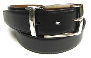 Cinturon de Cuero Reversible Para Hombre VARIAS MEDIDAS (100 % PIEL AUTENTICA)
