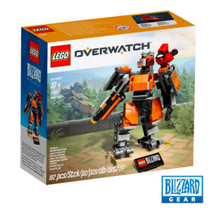LEGO-OVERWATCH-OMNIC-BASTION-75987-SET-BLIZZARD-EXCLUSIVE-RARE-PROMO-NEW
