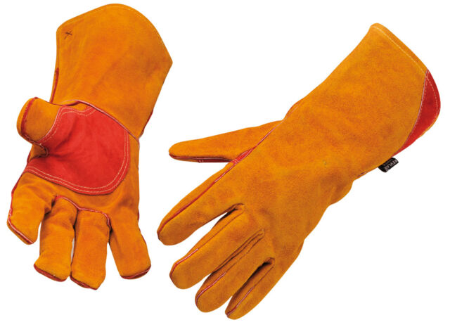 THORN PROOF GARDENING GLOVES,FULL LEATHER, PRUNING, BRIAR,CUT & THORN RESISTANT