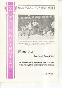 FDGB-Pokal-87-88-BSG-Wismut-Aue-SG-Dynamo-Dresden