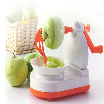 Apple Pear Fruit Potato Peeler Corer Slicer Cutter Kitchen Dicing Machine Tool