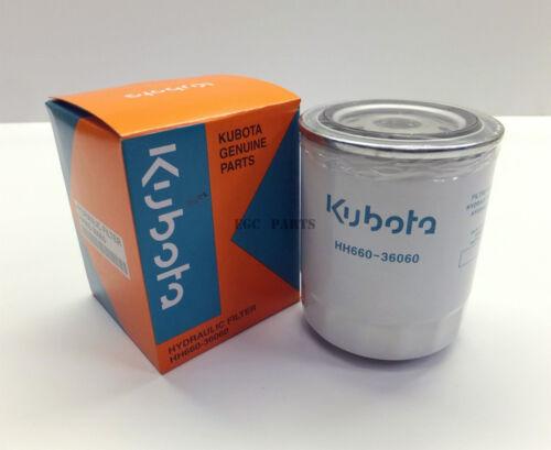 HH66036060 Kubota F3090 Hydraulic Oil Filter W21TSH6600 Genuine