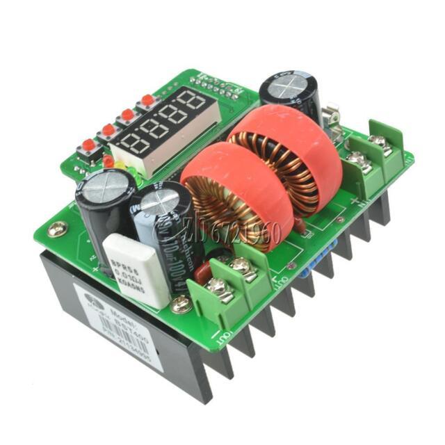 Digital Led 10A 400W Constant Voltage Constant Current DC-DC Boost Module