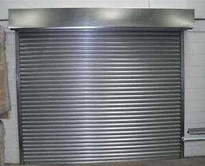 Electric high security roller shutter garage doors for Garage door repair lake worth fl