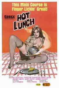 Image is loading Hot-Lunch-1982-Style-A-80s-Adult-Porn-