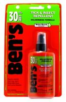 (3 Pack) Bens Tick & Insect Repellent 30% Deet 3.4 Ounce Pump