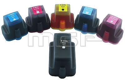 18 x HP02 XL compatible ink PhotoSmart C7180 C7280 C8180 C6380 D7160 D7260 D7360