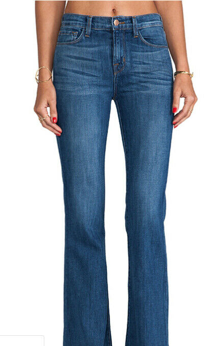 J BRAND Womens Valentina 2243C032 Jeans Relaxed Bliss bluee Size 25