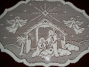 LACE-PLACEMAT-WHITE-20-X-14-NATIVITY-TABLE-WTDN353