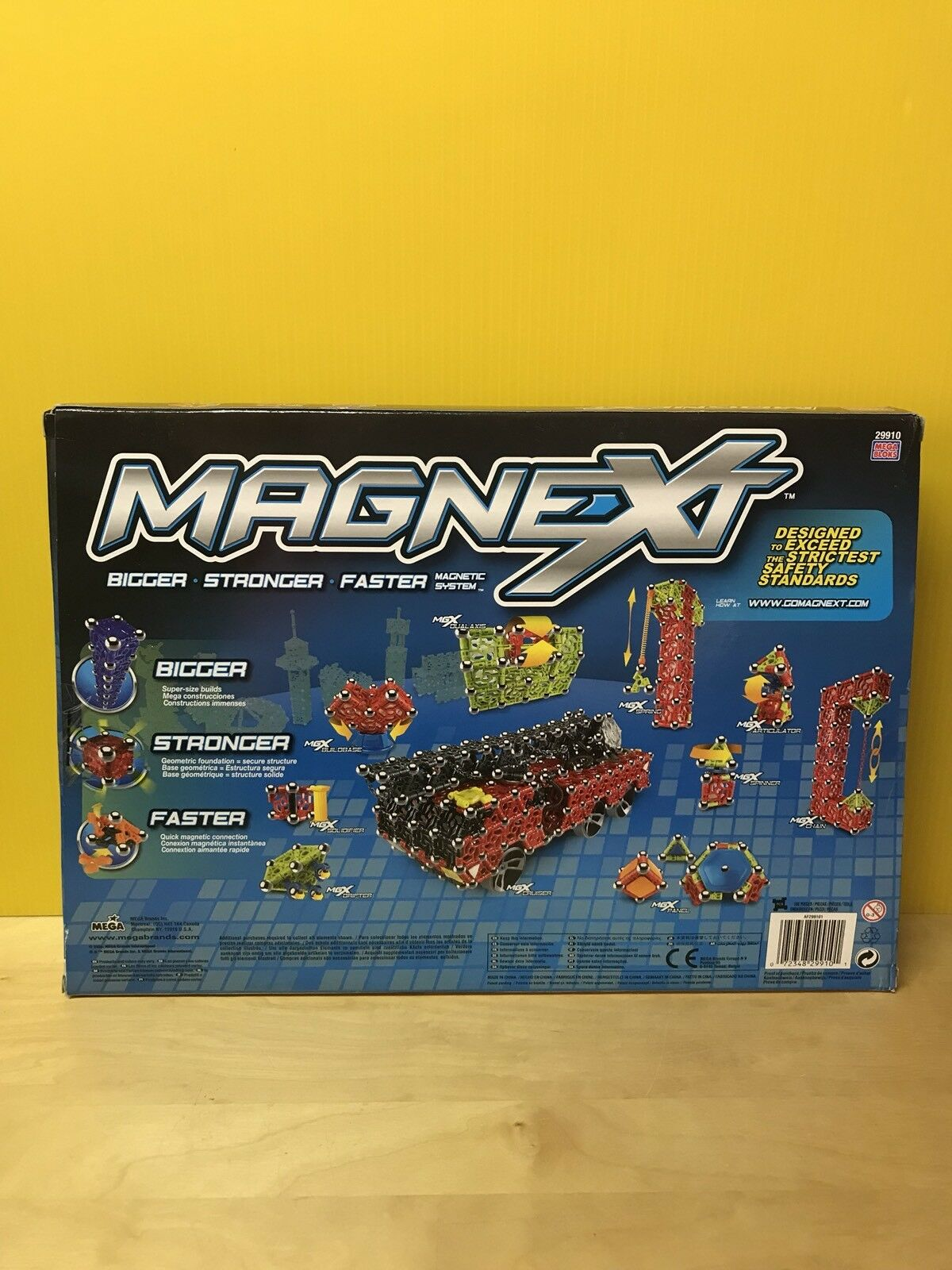 MEGA BLOKS Magnext Set Set Set 29910 Special Parts Ultimate 1.1 Set 100 Pcs Magnets NEW a6dacc