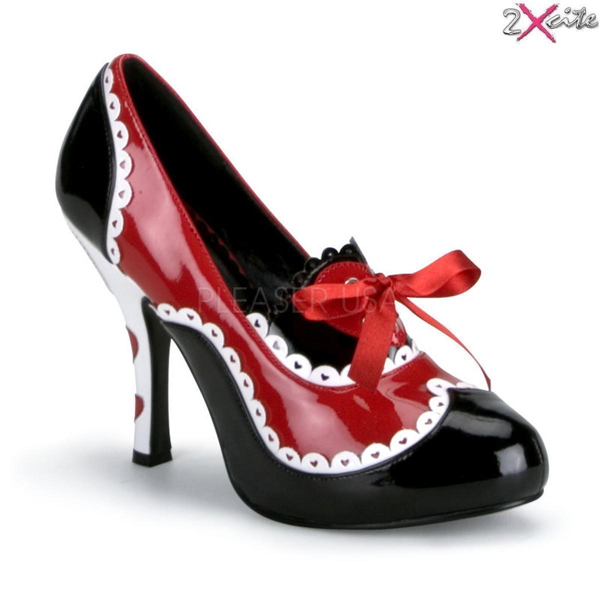 Liebling Funtasma Queen 03 Mary Jane Alice im Wunderland Schuhe Kostüm