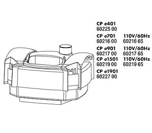 Tête de pompe Jbl Cp E Gl Pièce détachée E401 E701 E901 E1501 E1901 Cristal Professional