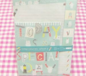 Details about SYNAPSE JAPAN / Today is a special day Bear Letter Set /  Japanese Stationery