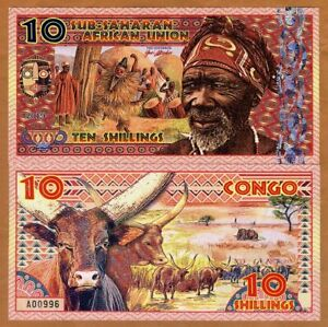 Sub-Saharan-African-Union-10-Shillings-2019-Private-Issue-Polymer-gt-Man