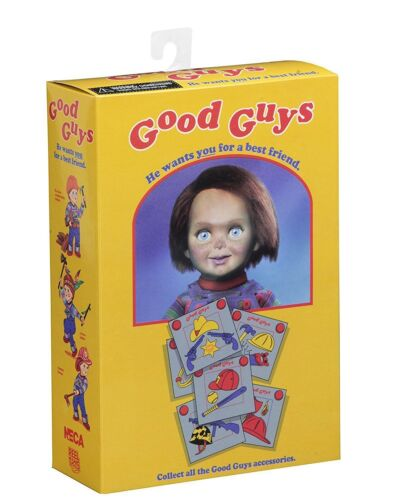 """New NECA Child/'s Play Ultimate Chucky Figure 7/"""" Scale Doll Horror Collectable"""