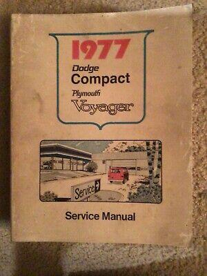 research.unir.net 1977 Dodge Van Plymouth Voyager Shop Service ...