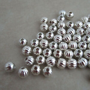 silver-plated-beads-4mm-round-corrugated