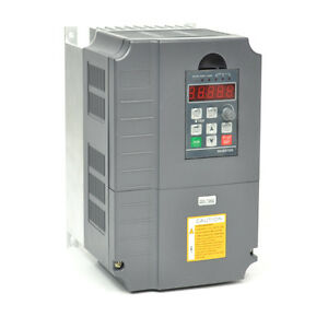 UPDATED 5.5KW 7.6HP 25A 220V VFD VARIABLE FREQUENCY DRIVE INVERTER