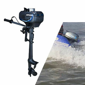 3 5hp 2 stroke electric outboard engine inflatable fishing for 400 hp boat motor price