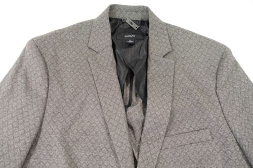 in blazer grigio uomo New Giacca Alfani da tessuto Nwt medio sportiva Giacca AUwqFF