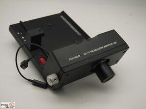 Polaroid-SX-70-Microscope-Adapter-0137-mit-Objektiv-Mikroskopadapter-Mikroskope