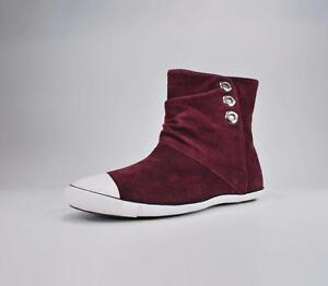 930ce1065032 Converse Shoes All Star Women s Light Ankle Mid Burgundy Boots ...